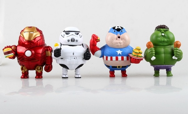 wolves-world-fat-iron-man-hulk-captain-america-stormtrooper-pvc-action-figures-collectible-model-toys-9cm-smaller